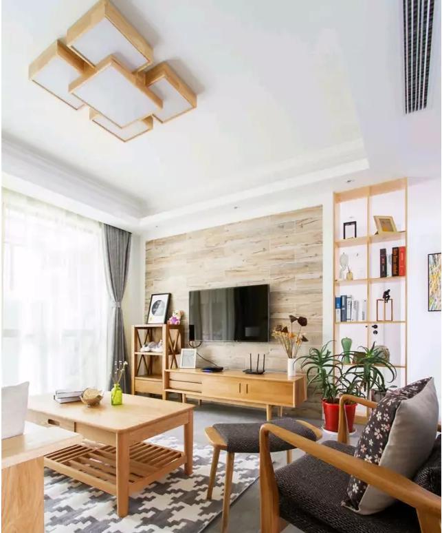 105㎡日式三室,简单的原木营造舒适自然!